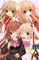 Little Busters! x Rewrite by Kitsuneco