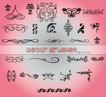 Decor Brushes by Flina-Stock