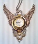 Large Working Watch Pendant by SteamDesigns
