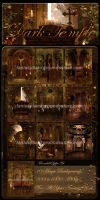 Dark Temple Backgrounds by moonchild-ljilja