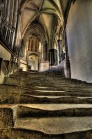 Cathedral  stairs by AngiWallace