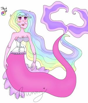 Colorful Mermaid AED28 (open) by Homicidal-Bunny