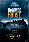 Haunted House Flyer by styleWish