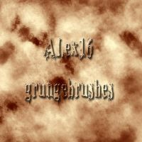 alex16 grunge brushes by alex16