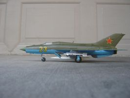 1/48 scale Soviet MiG-21 PH 2 by Coffeebean2