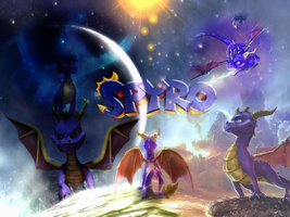 Spyro wallpaper by UKthewhitewolf