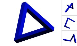 Penrose Triangle by Balthaser