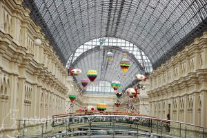 GUM Department Store in Moscow by YnekochanY