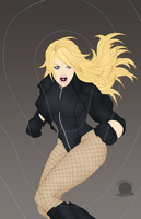 Black Canary Scream 2.0 by Blackmoonrose13