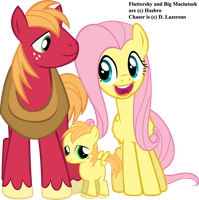 The Macintosh Family by dlazerous
