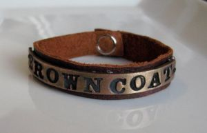 Firefly Browncoat Bracelet by Peaceofshine