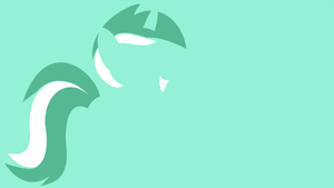 My Minimal Pony: Lyra by UtterlyLudicrous