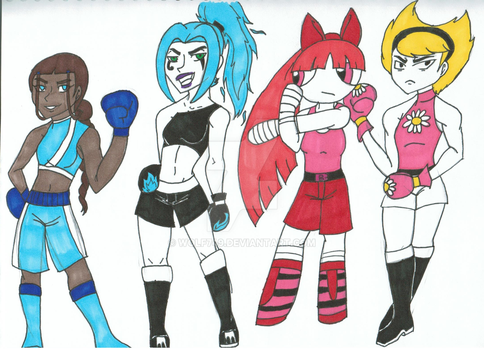 Major Circuit Ladies by wolf749