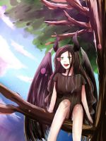 Young Maleficent by XoraXIII