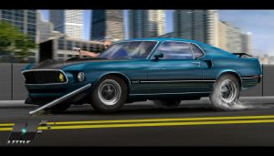Mustang by LiTTLE777