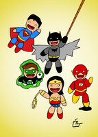 Little Justice League by HeroFromMars