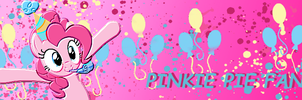 Banner Pinkie Pie by Bre-Ce-Cuca