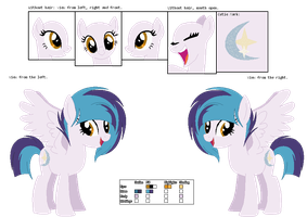 Official Headcanon Reference Sheet : Moonshine by XteySockies