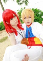 MAGI - Morgiana and Alibaba by EatEatEats
