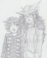 Nepeta and Feferi by Susan-Kim