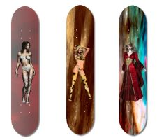 Skateboards by Contorted-Lyridamson