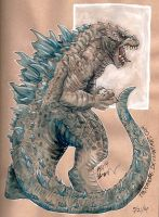 Godzilla 2014 by Thermrone