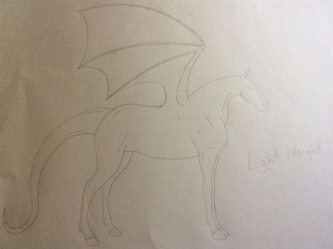 Official Doragon-ba Light Weight Base by EnderDrawsEverything