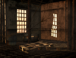 abandoned room 03 stock by Ecathe