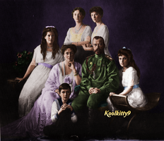 The Romanovs in 1913 by koolkitty9