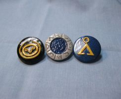 Stargate Pins by kitcat4056