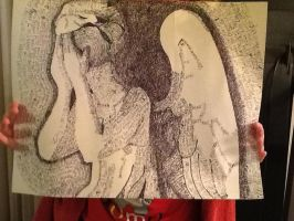Weeping Angel of words by Tailmouth-Cupcake