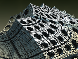 The Decline and Fall of the Fractal Empire II by Jakeukalane