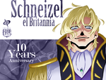 Schneizel 10th Geass Anniversary by SPIRALCRIS