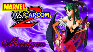 MVC2 Morrigan PSP Wallpaper by WhiteAngel50000