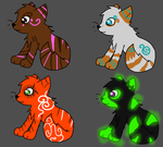 Cat point adopts by ReimeisAdopts