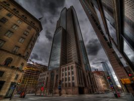 Downtown Dallas IV by kubica