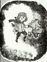 The Girl and the Creature by VickyToriAh