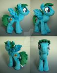 OC Male Pony Plush by WhittyKitty