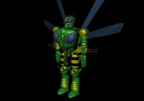 Waspinator Finished by WishmasterInRlyeh