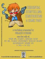 Anime Workshop Flyer by project4studios