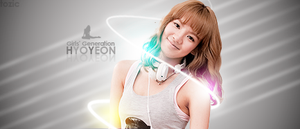 SNSD Hyoyeon Signature by tozic