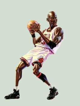 Michael Jordan by A-BB