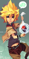 Roxas's Prize from the Fair by kimchii