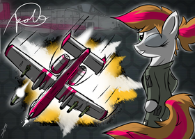 Ace Combat Equestria (A.C.E) : Apollo by DJP15