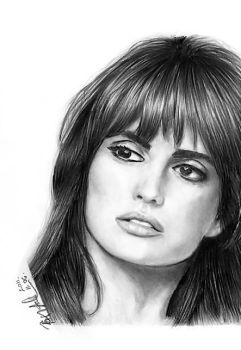 Penelope Cruz by Cast-al-ia