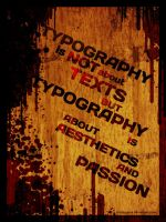 Typography - 1 by crazygenk
