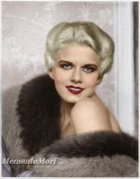 Jean Harlow IV by M3ment0M0ri