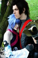 Aqua X Terra:piece me together by PookieBearCosplay