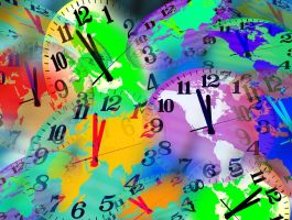 Colorful Clocks 3203782 by StockProject1