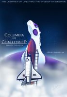 Columbia and Challenger Poster by SaddlePatch